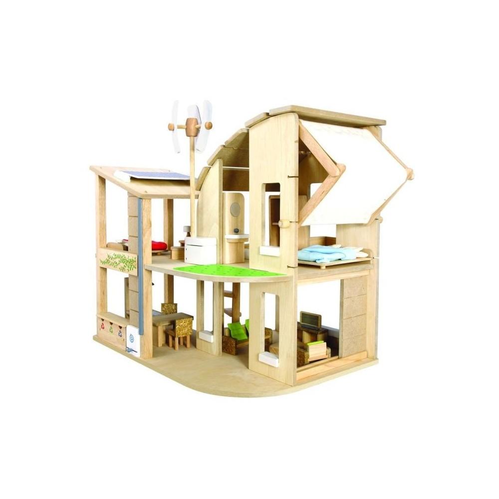 Maison écologique moderne