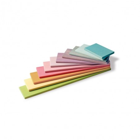 Planches de construction pastel