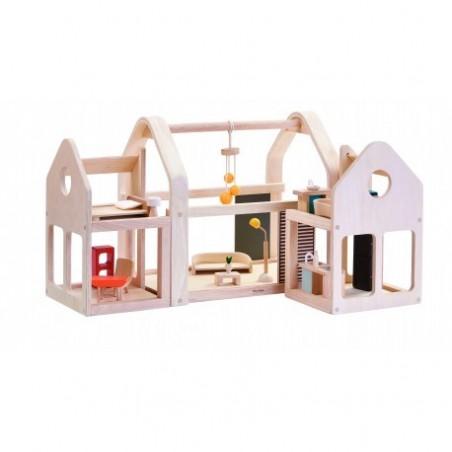 Maison 3 en 1 meublée