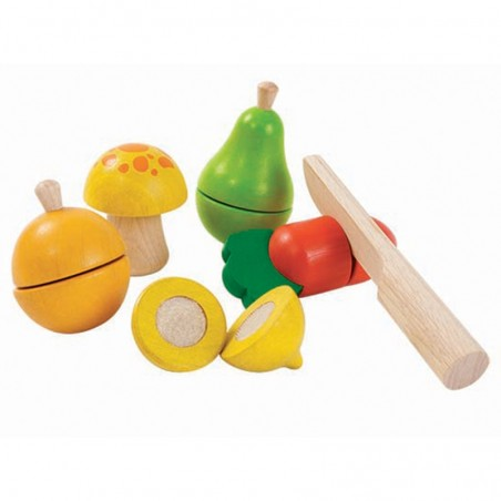 Assortiments de fruits et legumes