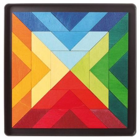 Puzzle magnétique Square Indian