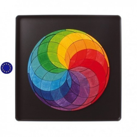 Puzzle magnétique color spiral