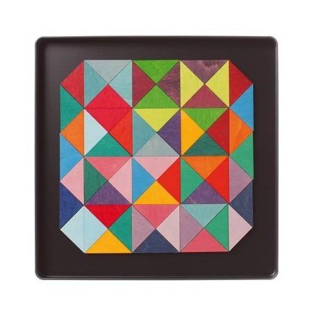 Puzzle magnétique Triangle