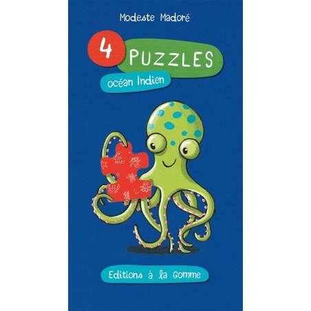 4 puzzles océan Indien