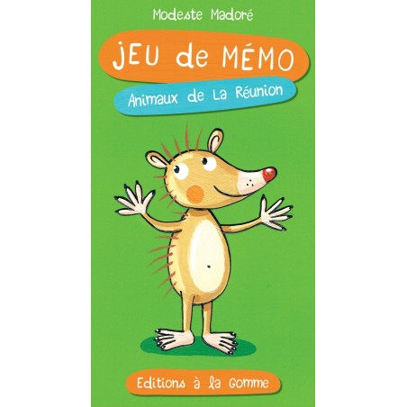Jeu de mémo – Animaux de La Réunion