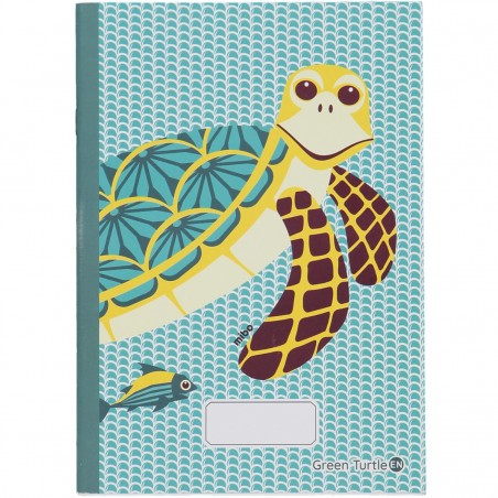 Cahier A5 Tortue