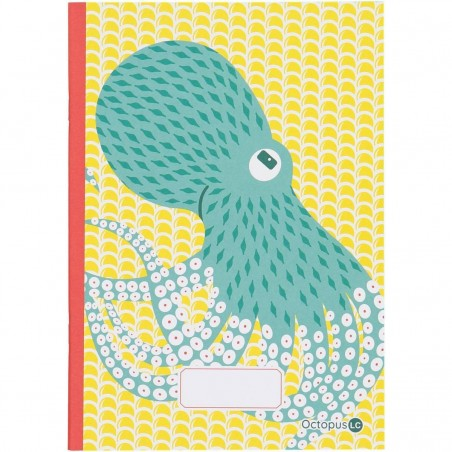 Cahier A5 Octopus