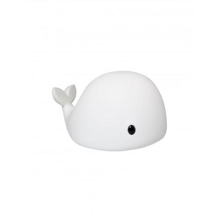 Veilleuse Big'whale Blanc Little L