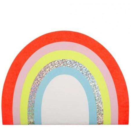 Cahier de dessin et stickers rainbow