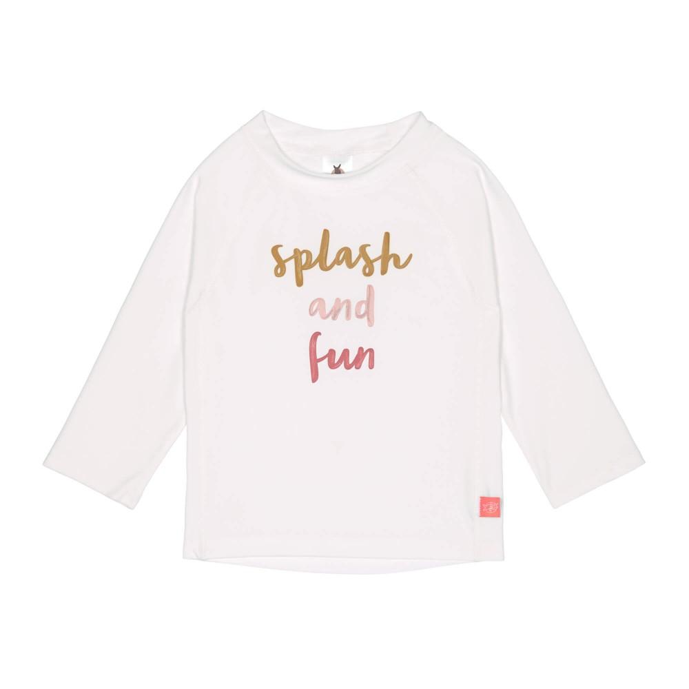Tshirt lycra fille Splash et Fun pink