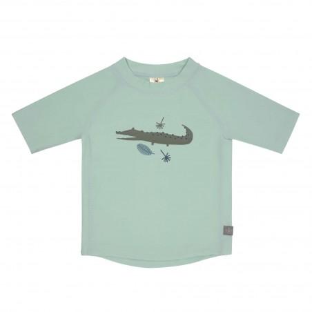 Tshirt lycra Manches Courtes, Crocodile Menthe