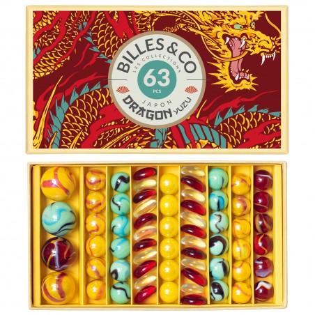 Box de billes Dragon jade