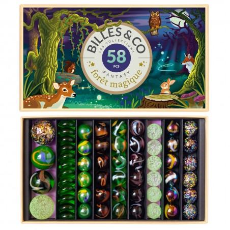 Box de billes Forêt Magique