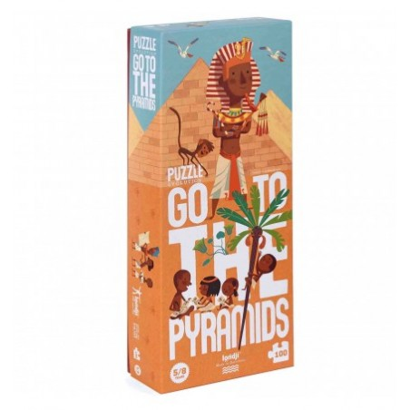 Puzzle Go to the Pyramids