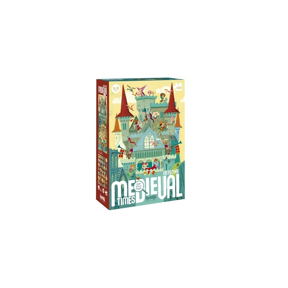 Puzzle Go to the Medieval times