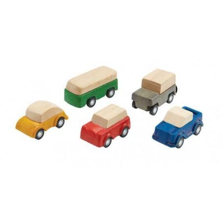 Set de 5 petits véhicules - Plantoys