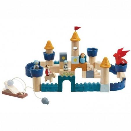 Château 60 pièces couleurs tendres - Plantoys