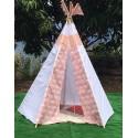 Cabanes, tentes et tipis